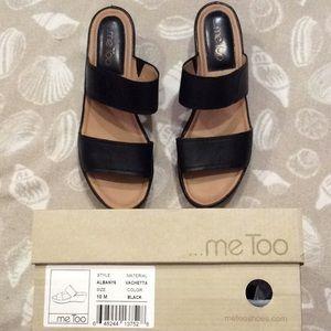 me too Shoes - Me Too Albany 6 Black Vachetta